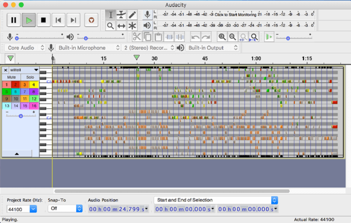Audacity Screenshot 5
